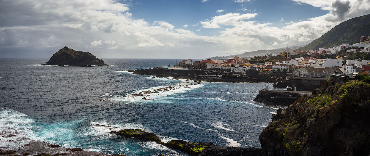 Popular spot: Garachico in northwest Tenerife